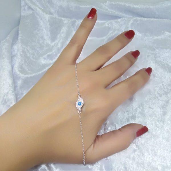 Γυναικειο βραχιολι ασημενιο 925