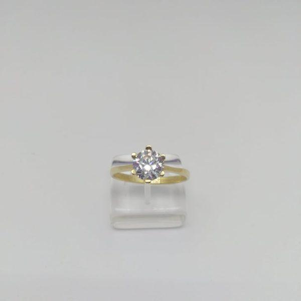 Χρυσο γυναικειο δαχτυλιδι