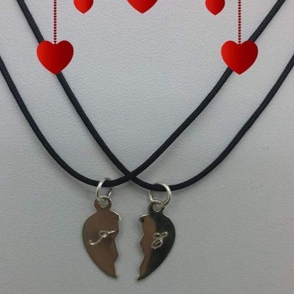 Unisex κολιε καρδια