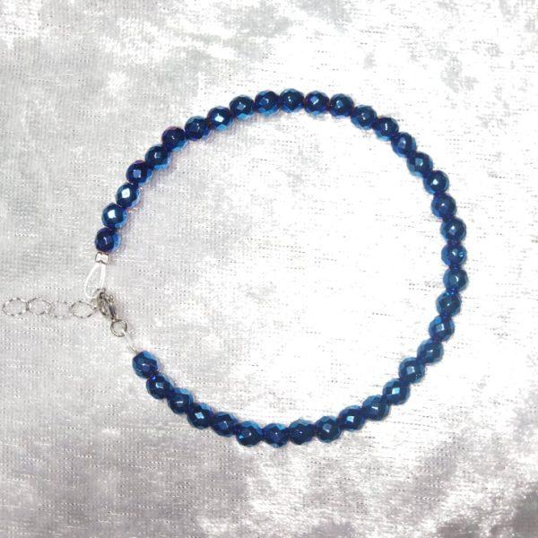 Βραχιολι μπλε αιματιτης