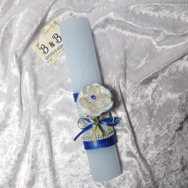 Αρωματικη λαμπαδα πορσελανινο λουλουδι