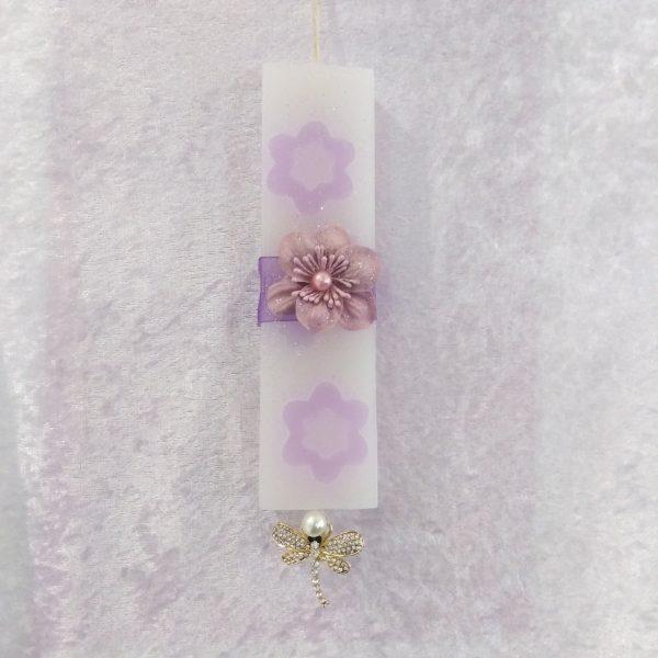 Αρωματικη λαμπαδα λουλουδια